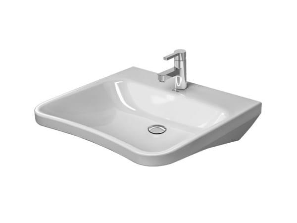 Ceramic washbasin for disabled DURASTYLE | Washbasin for disabled - DURAVIT