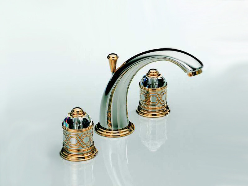 3 hole washbasin tap DUOMO | Washbasin tap - INTERCONTACT