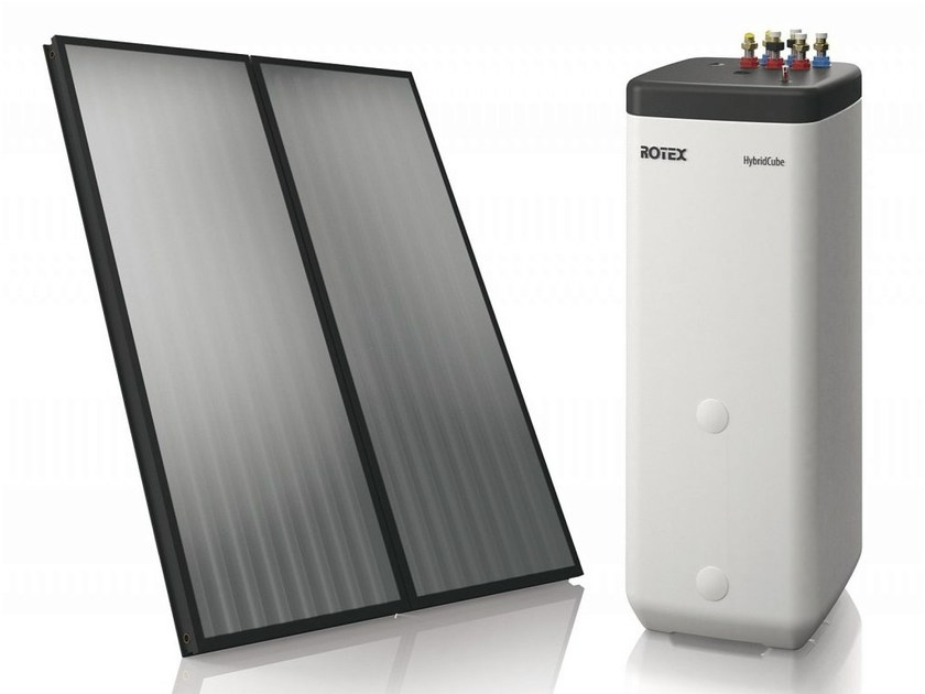 Solar heating system ROTEX SOLARIS - Daikin Air Conditioning Italy S.p.A. - Divisione Riscaldamento