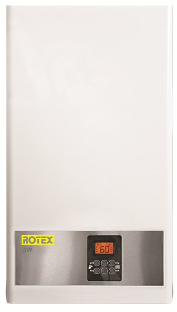 Wall-mounted condensation boiler ROTEX GW by DAIKIN Heating Systems