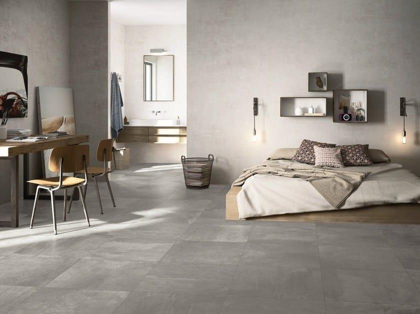 Pavimento in gres porcellanato smaltato effetto cemento for Gres effetto cemento