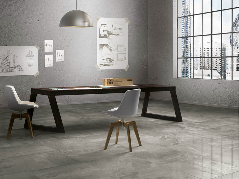 Porcelain stoneware wall/floor tiles with stone effect DISCOVERY DARK - EDIMAX CERAMICHE
