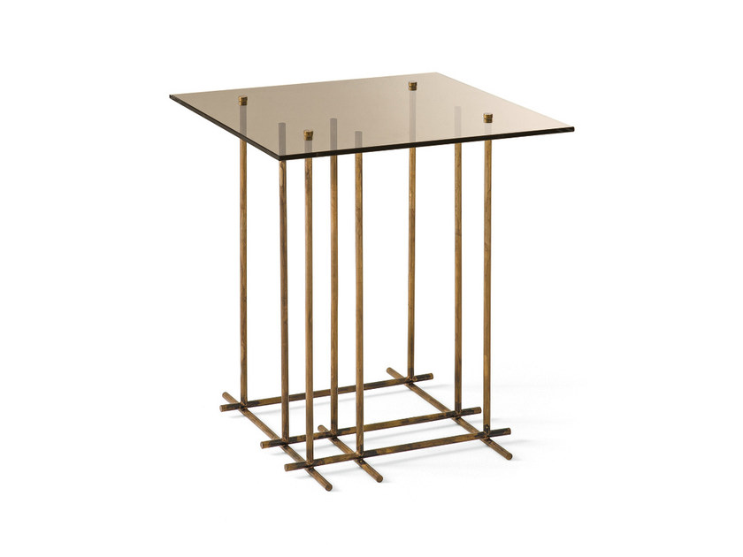 Square crystal coffee table TETRIS | Square coffee table - Gallotti&Radice