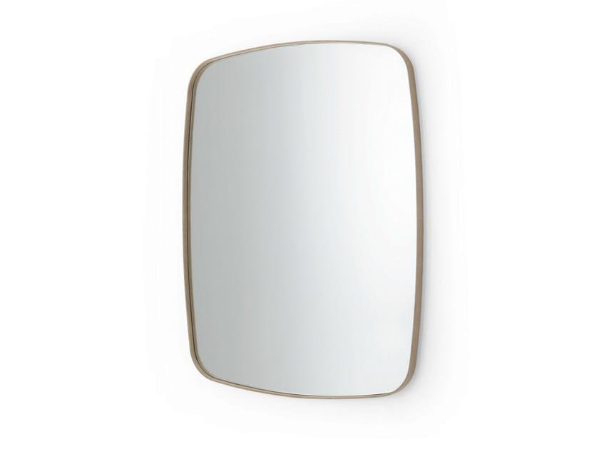 Rectangular wall-mounted framed mirror SOFT - Gallotti&Radice