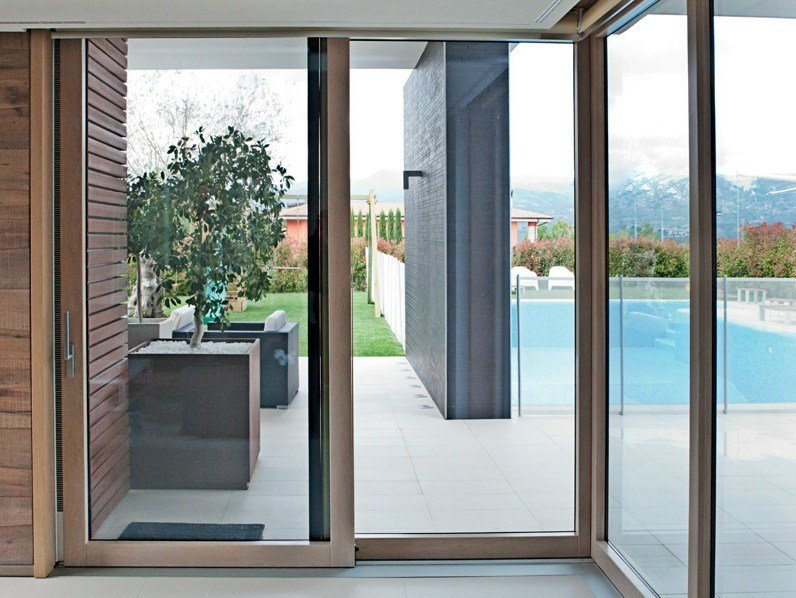 Finestra scorrevole in legno exter glass design finestra scorrevole de carlo - Finestre de carlo ...