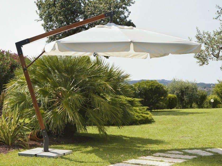 Offset Garden umbrella AVERNO - Mediterraneo by GPB