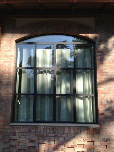 Finestra a taglio termico in acciaio janisol arte jansen - Finestra a taglio termico ...