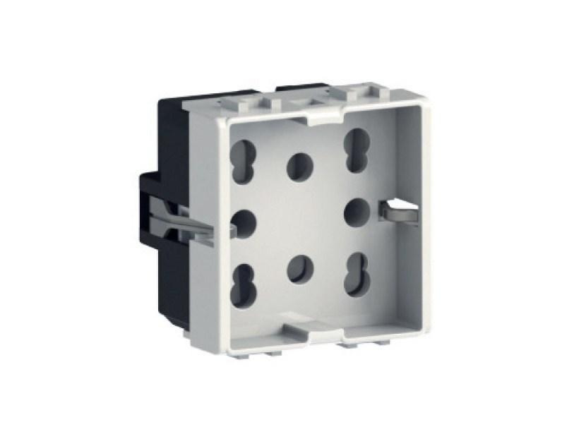 2-Module electrical outlet SIDE by 4 BOX