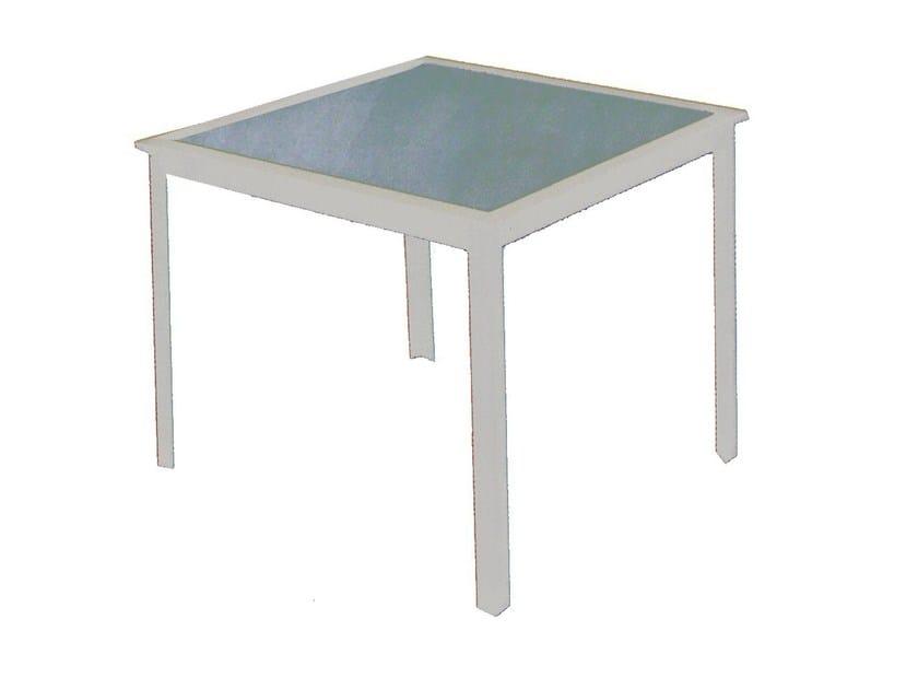 Square garden table ERICA | Garden table - Mediterraneo by GPB