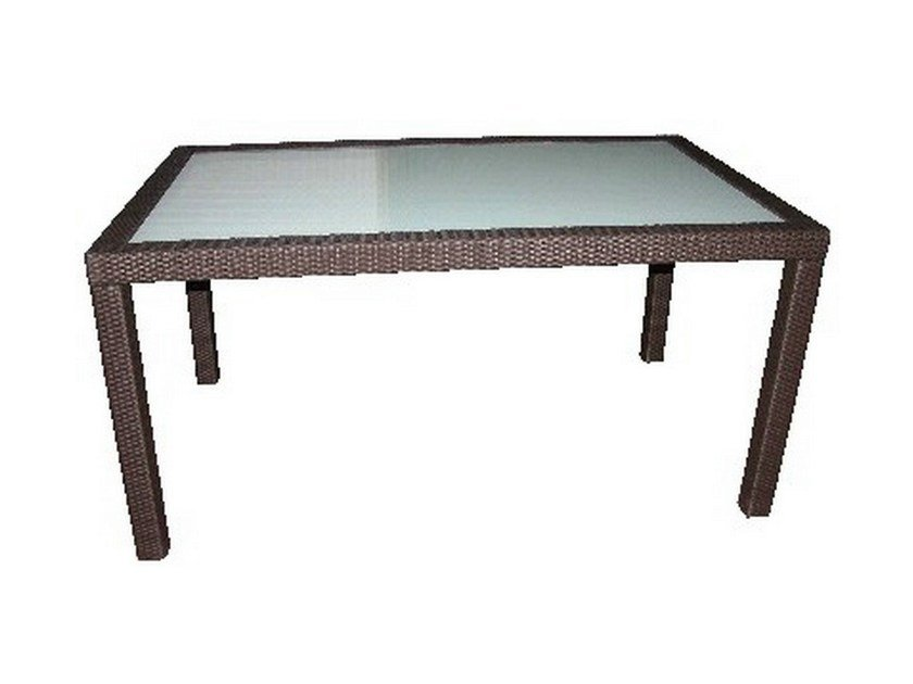 Rectangular garden table ALASSIO | Rectangular table by Mediterraneo by GPB