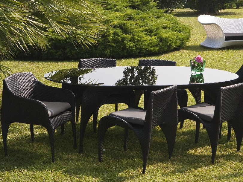 Oval garden table NUVOLA | Oval table - Mediterraneo by GPB