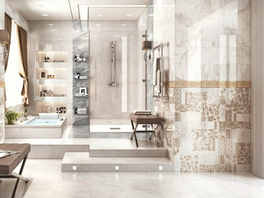 White-paste wall tiles INSPIRE by CERAMICA SANTAGOSTINO
