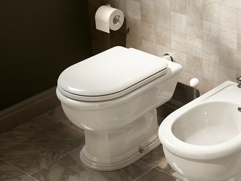 Ceramic toilet FIDIA | Toilet by CERAMICA FLAMINIA