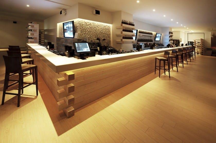Arredo per hotel e ristoranti in hi macs hi macs hotel for Arredo ristorante