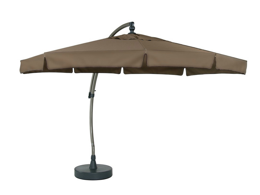 Offset adjustable Garden umbrella EASY SUN | Adjustable Garden umbrella - Mediterraneo by GPB