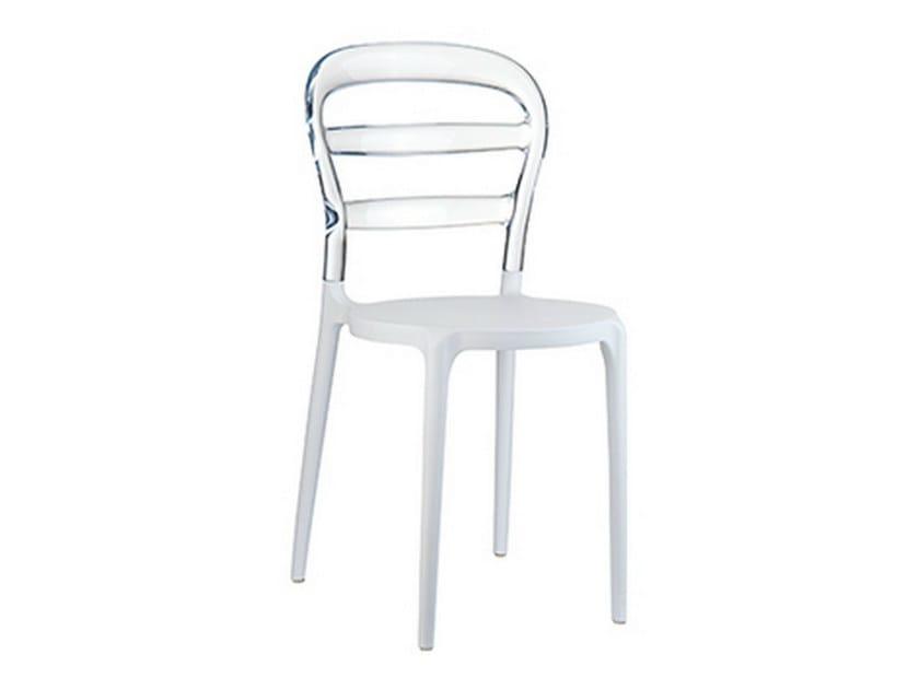 Stackable garden chair BIBI - Mediterraneo by GPB