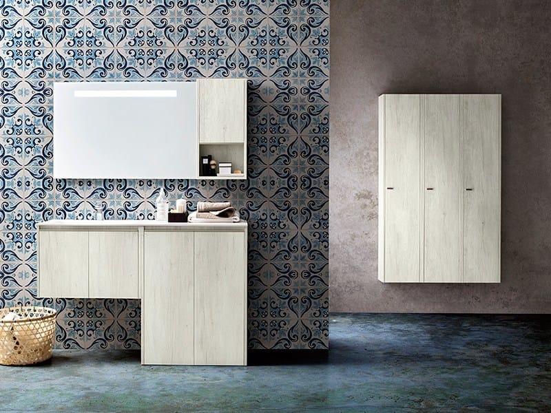 Sectional Bathroom Cabinet MOVIDA 38 41 By Cerasa Design