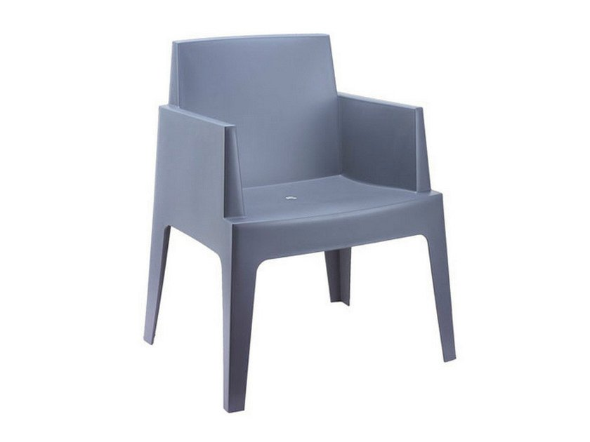 Stackable garden armchair BOX | Easy chair by Mediterraneo by GPB