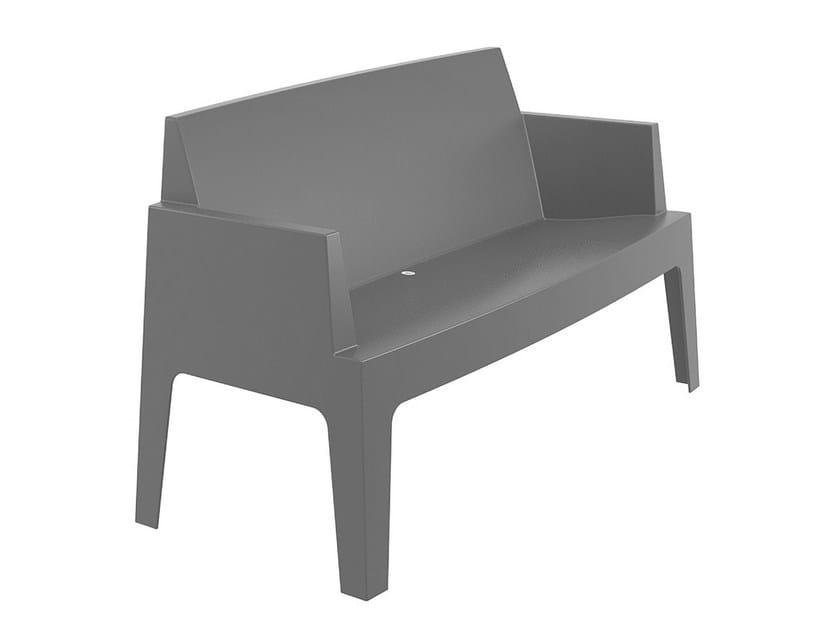 Polypropylene garden sofa BOX | Garden sofa - Mediterraneo by GPB