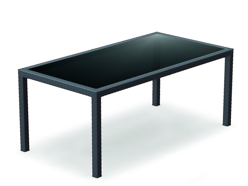 Garden table TAHITI - Mediterraneo by GPB