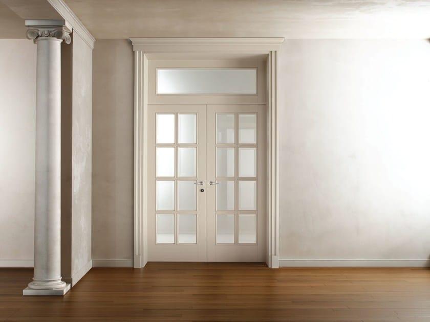 Hinged lacquered wooden door AREZZO - Ghizzi & Benatti