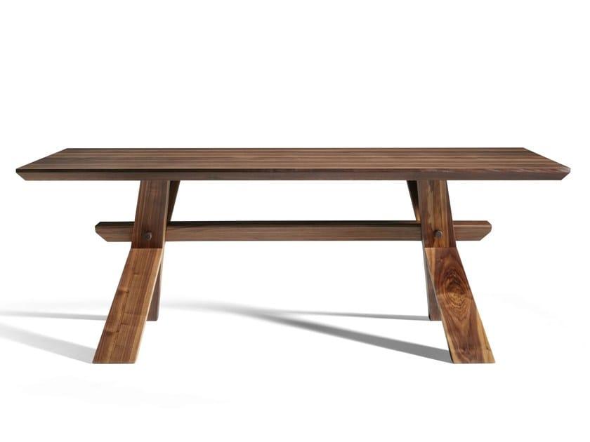 Custom walnut table DECIMO | Walnut table - L'Ottocento