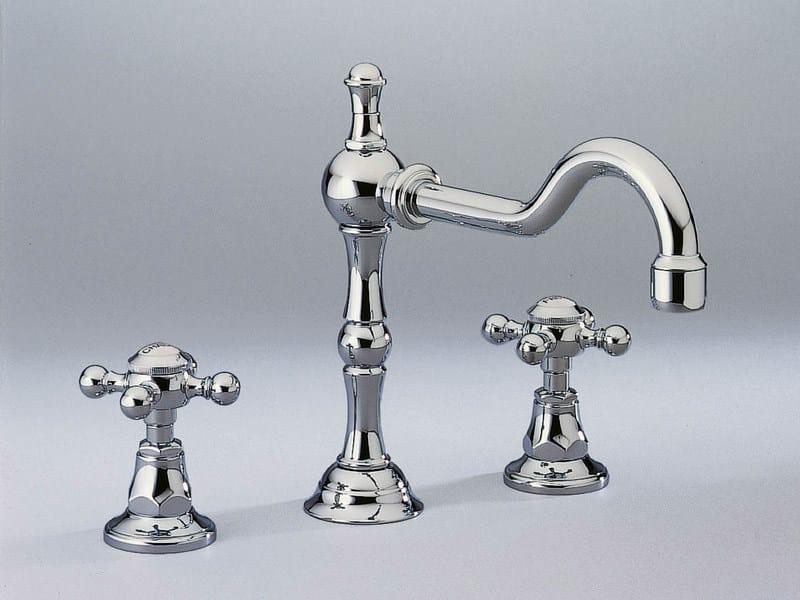 3 hole washbasin tap 1900 | Washbasin tap - INTERCONTACT