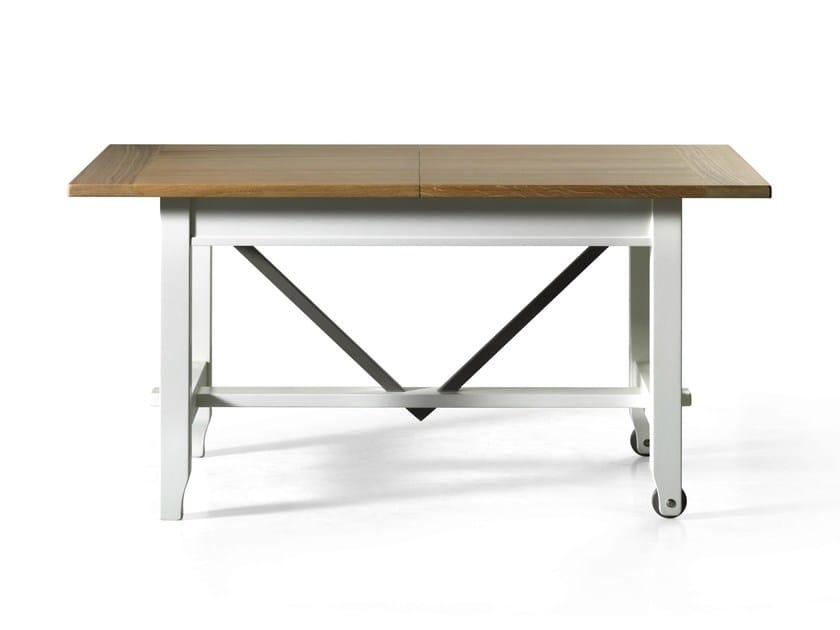 Extending table ROTELLA - L'Ottocento