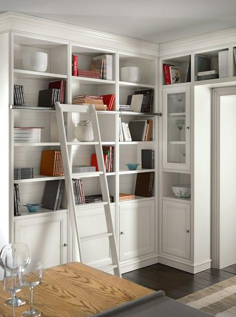 Libreria a parete modulare calendario living l 39 ottocento for Libreria velux