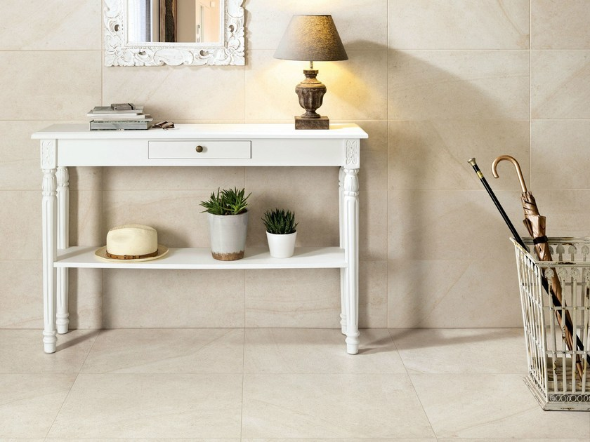 Porcelain stoneware wall/floor tiles with stone effect MAISON BLANC - Ceramiche Caesar
