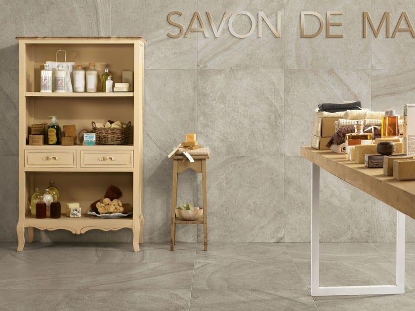 Porcelain stoneware wall/floor tiles with stone effect MAISON PERLA - Ceramiche Caesar