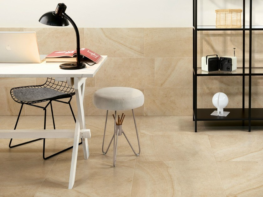 Porcelain stoneware wall/floor tiles with stone effect MAISON CREME - Ceramiche Caesar