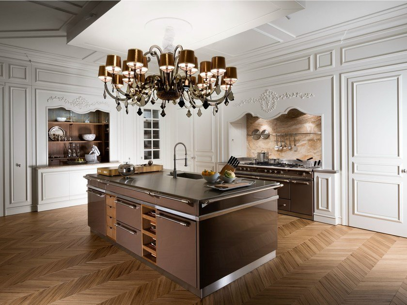 Custom fitted kitchen FLORAL | Fitted kitchen by L'Ottocento