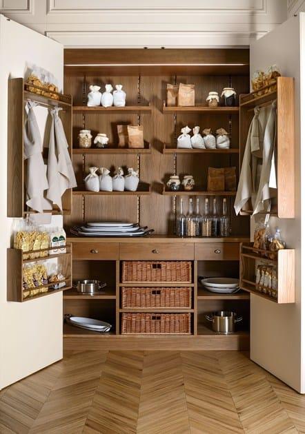 Cucina componibile su misura floral cucina componibile l 39 ottocento - L ottocento mobili ...