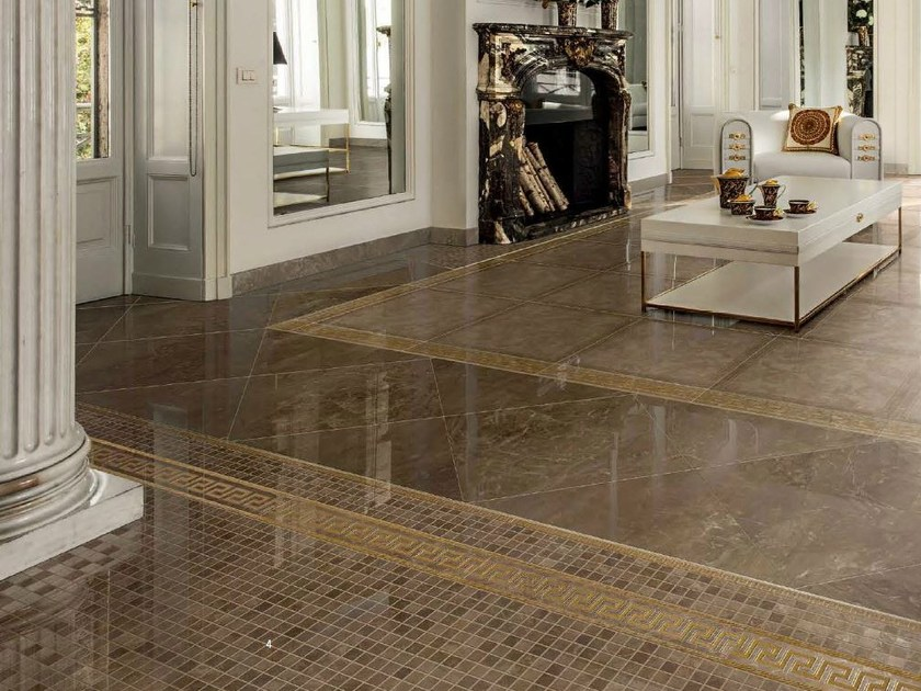Versace ceramics pavimenti archiproducts for Carrelage versace