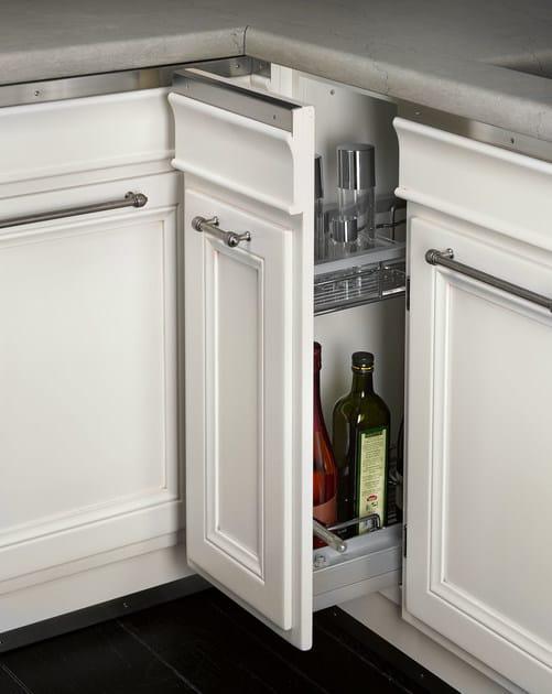Cucina laccata con penisola living light l 39 ottocento - L ottocento mobili ...