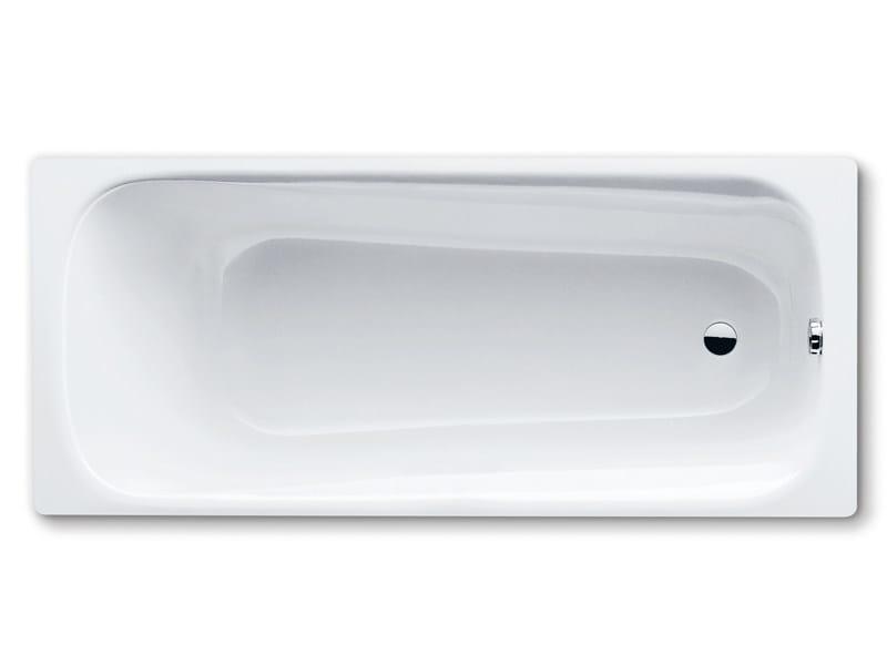 Built-in rectangular steel bathtub DYNA - Kaldewei Italia