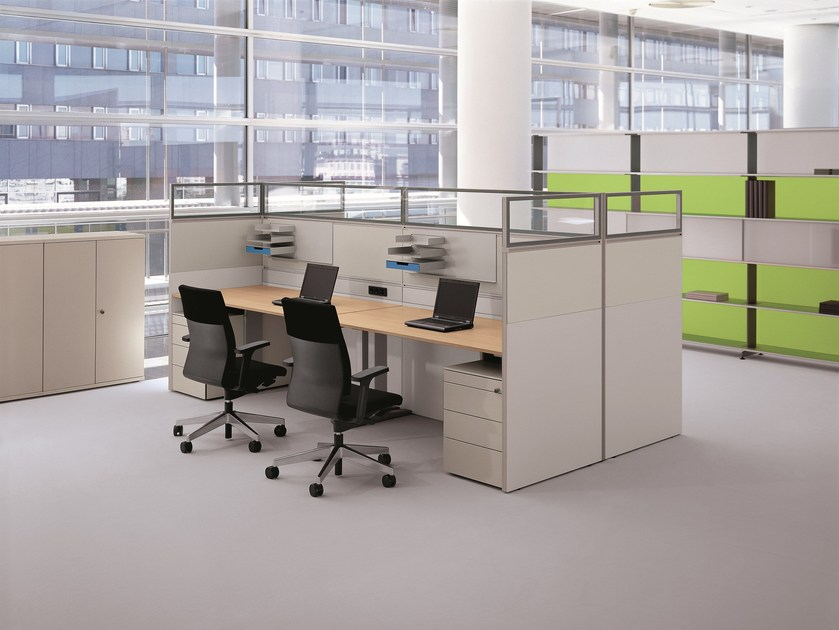 Workstation screen RV Dividing Wall - BENE