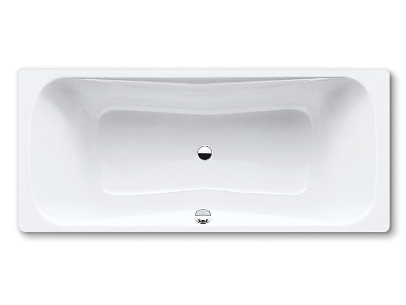 Built-in rectangular steel bathtub DYNA DUO - Kaldewei Italia