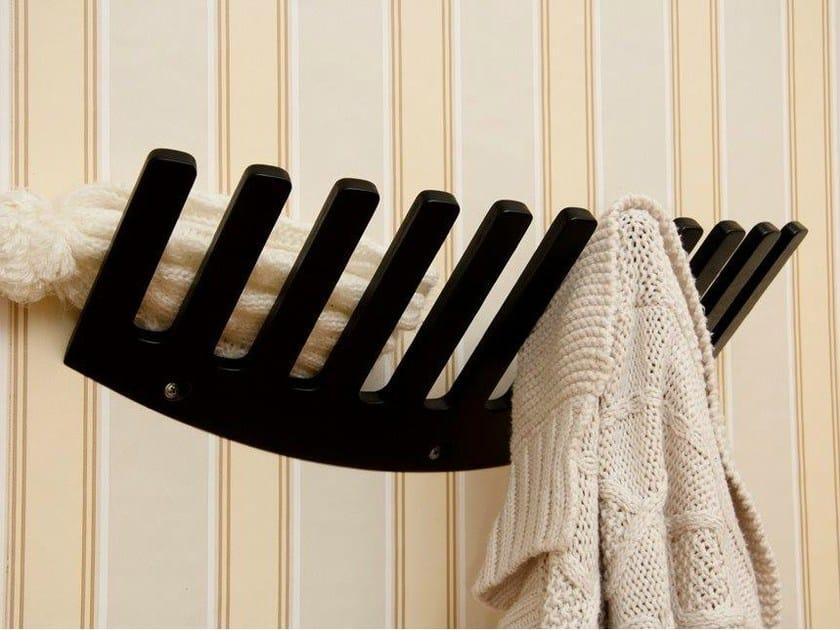 Wall-mounted birch coat rack for children JUSS by Tarmeko