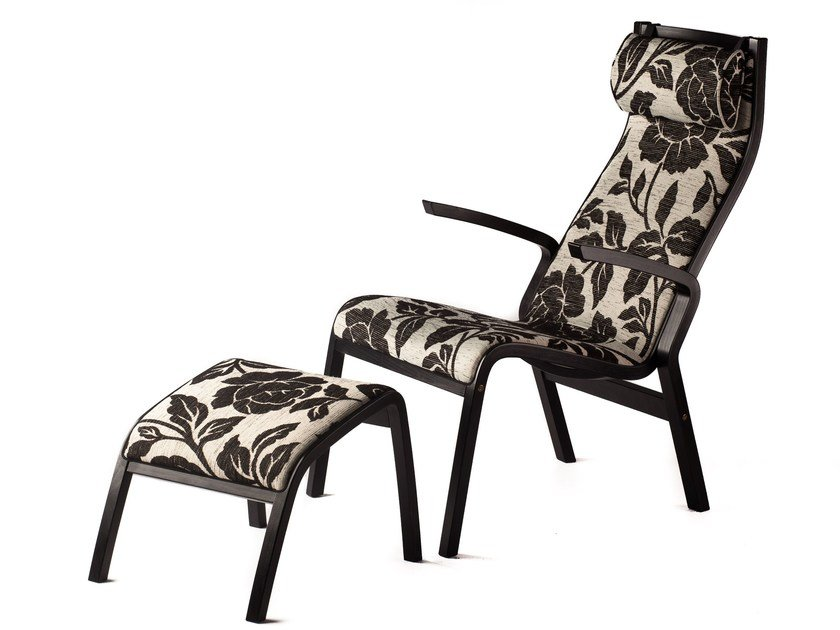Fabric easy chair with armrests ZÜRICH | Fabric easy chair - Tarmeko