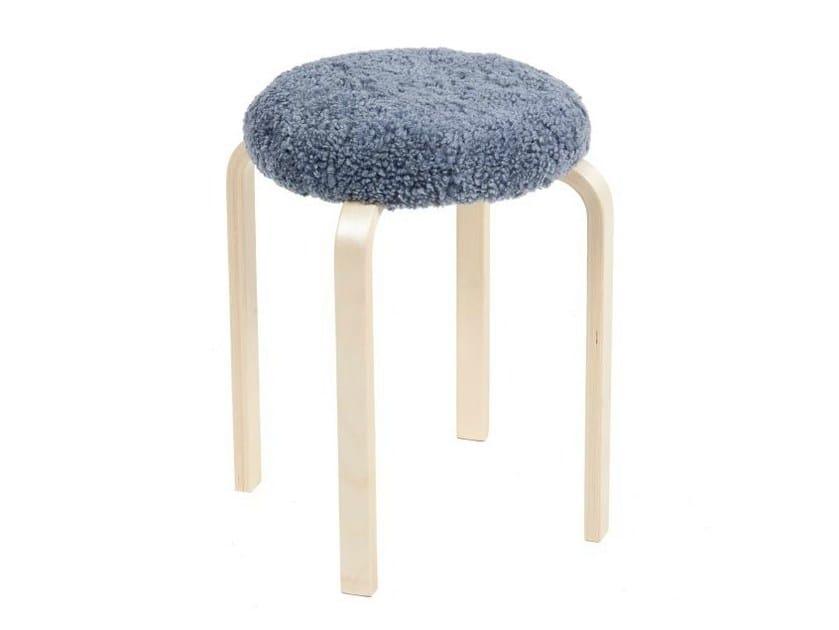 Low upholstered stool PUFF - Tarmeko