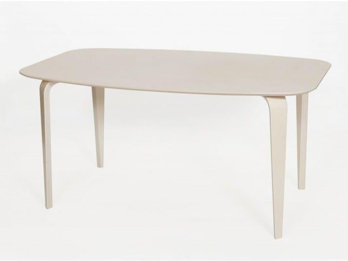 Rectangular birch dining table KARJALA | Dining table - Tarmeko
