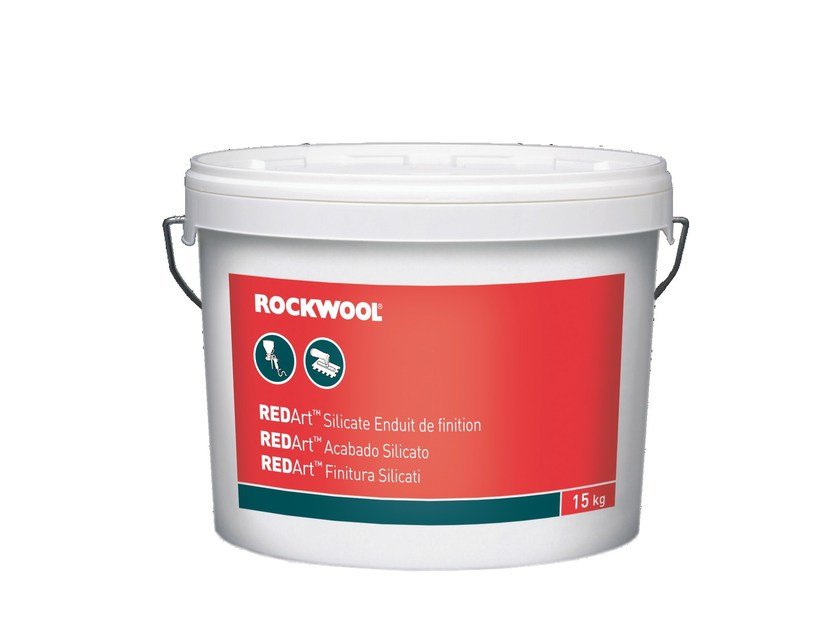 Silicate paint REDArt™ FINITURA AI SILICATI - ROCKWOOL ITALIA