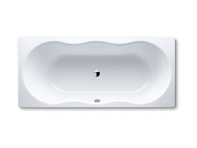 Built-in rectangular steel bathtub NOVOLA DUO - Kaldewei Italia