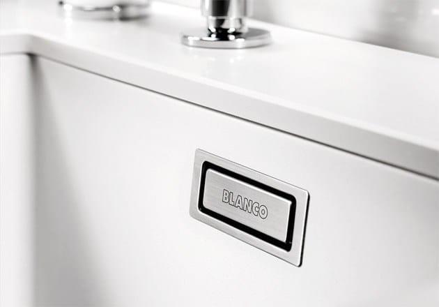 Lavello A 2 Vasche Da Incasso In Silgranit Blanco Subline