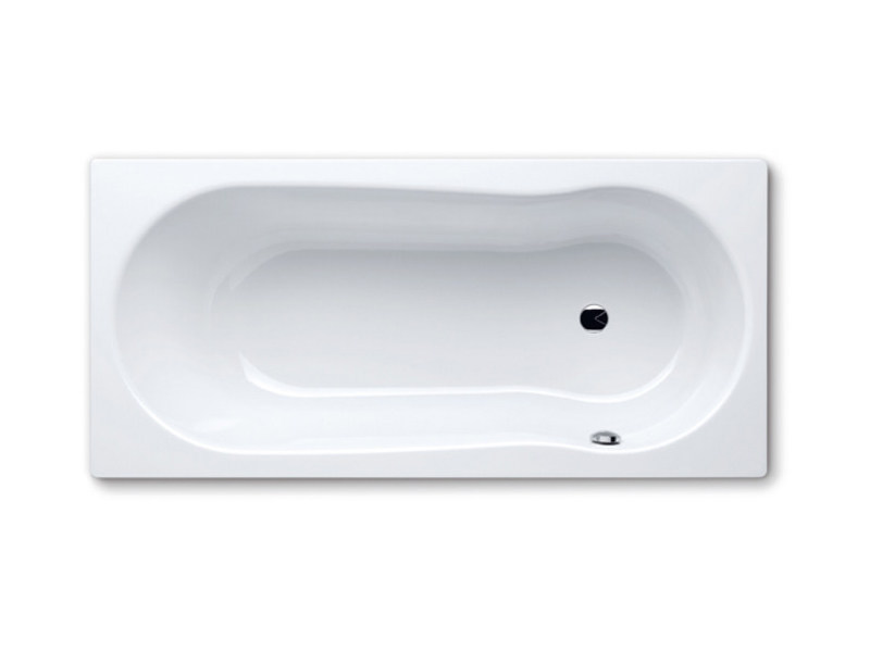 Built-in rectangular steel bathtub NOVOLA SET - Kaldewei Italia