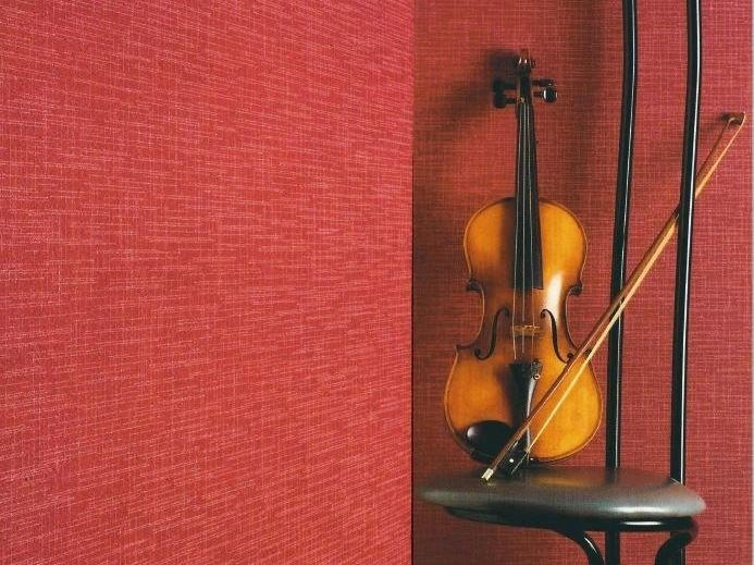 Sound absorbing synthetic fibre wallpaper WALLDESIGN® ACCORD - TECNOFLOOR Industria Chimica