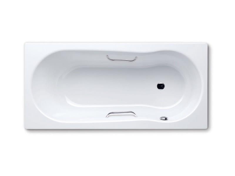 Rectangular bathtub with shower NOVOLA SET STAR - Kaldewei Italia