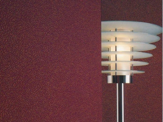 Sound absorbing synthetic fibre wallpaper WALLDESIGN® CHATOYER by TECNOFLOOR